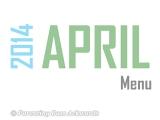 2014 | AprilMenu
