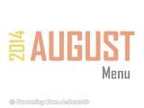 2014 | AugustMenu