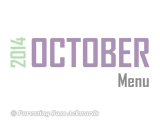 2014 | OctoberMenu