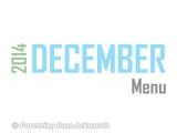 2014 | DecemberMenu