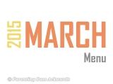 2015 | MarchMenu
