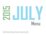 2015 | JulyMenu