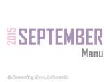 2015 | SeptemberMenu