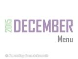 2015 | DecemberMenu