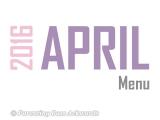 2016 | AprilMenu