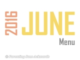 2016 | JuneMenu