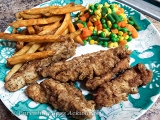 Recipe | Easy Pan Fried Chicken Strips