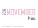 2016 | NovemberMenu