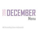 2016 | DecemberMenu