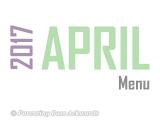 2017   AprilMenu