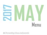 2017   MayMenu