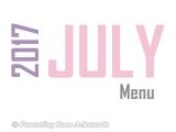 2017 | JulyMenu